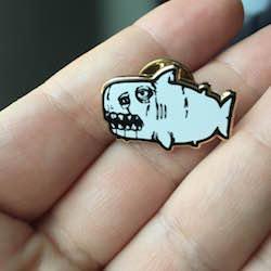 Shark Pin Image